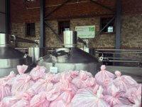 Organic rose oil distillery