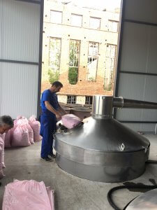 Rose oil production